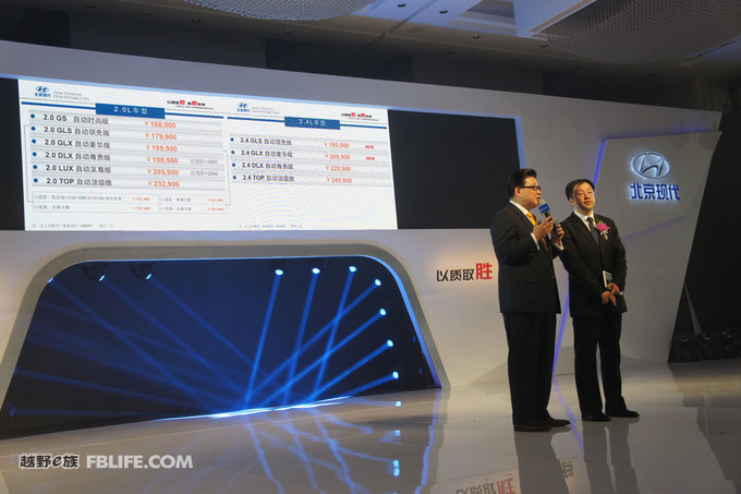 北京现代索八和新途胜 汽车行业Keynote定制